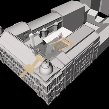 Aula ASP wKrakowie – Projekt budowlany iwykonawczy