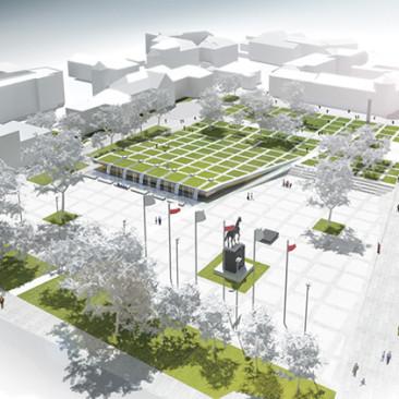 Konkurs urbanistyczno-architektoniczny  naopracowanie projektu koncepcyjnego Placu Litewskiego wLublinie